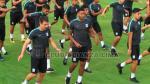Lionard Pajoy y Germán Pacheco sobresalen en entrenamientos de Alianza Lima - Noticias de profesor bengoechea