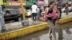 Lima amanece inundada tras lluvia de fuerte intensidad - Noticias de abraham levy