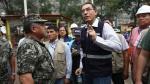 Martín Vizcarra anunció el restablecimiento del tránsito en Carretera Central. (Anthony Niño de Guzman)