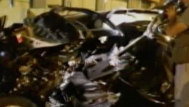 Miraflores: Despiste de taxi deja cuatro heridos (America Tv)