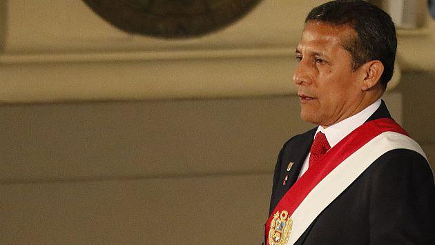 Ollanta Humala deberá pedir autorización del juez para salir del país