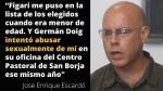"""Jose Enrique Escardó y el Sodalicio: """"Figari me puso en la lista de los elegidos cuando era menor de edad"""" - Noticias de oscar lopez"""