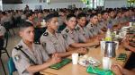 Carlos Basombrío anunció incremento del monto asignado para alimentación de policías. (Difusión)