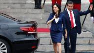 Ollanta Humala y Nadine Heredia, la ex pareja presidencial. (Rafael Cornejo)