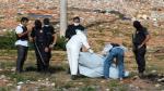 Grupo de forenses hallaron restos humanos tras la ocupación policial a cárcel de Natal (AFP).