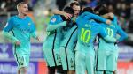 Barcelona goleó 4-0 al Eibar por la Liga española. (AFP)