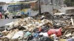 Sancionarán a municipios que no cumplan con tratamiento de la basura. (Trome)