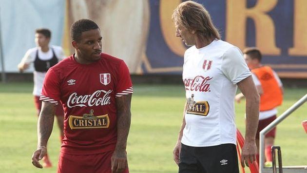 Ricardo Gareca lamenta la falta de fútbol de Jefferson Farfán. (USI)