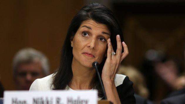 """Embajadora también insistió que su país va a """"mostrar su fuerza"""" (Reuters)"""