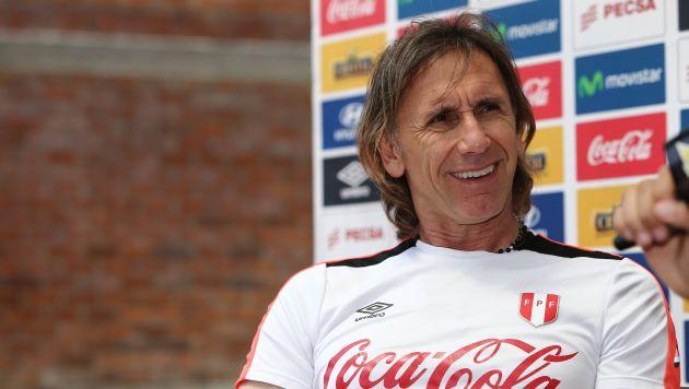 Ricardo Gareca opinó también sobre la situación futbolística de la selección argentina. (USI)