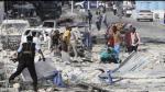 Somalia: Al menos 28 muertos y 43 heridos deja doble atentado en hotel de Mogadiscio - Noticias de coche bomba