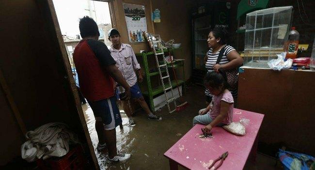 Los niños pueden ser los más afectados por fuerte lluvias (Foto: Renzo Salazar)