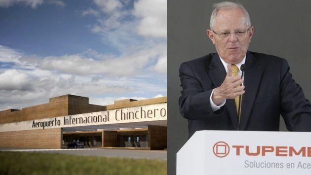 Cusqueños exigen a Pedro Pablo Kuczynski  ir a la zona con el fin de resolver la suspensión de la construcción del aeropuerto de Chincheros. (USI/Perú21)