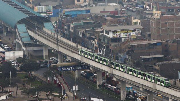 Metro de Lima realizará viajes adicionales por desborde. (USI)