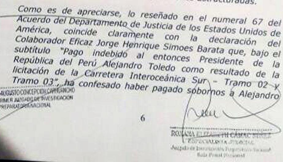 Fiscalía acusa formalmente a ex presidente Toledo — Perú