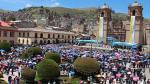Puno: Otorgan Orden del Sol a la Virgen de la Candelaria - Noticias de ivan cruz