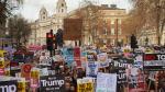 Protestas en Londres contra visita de Donald Trump a Reino Unido - Noticias de racismo