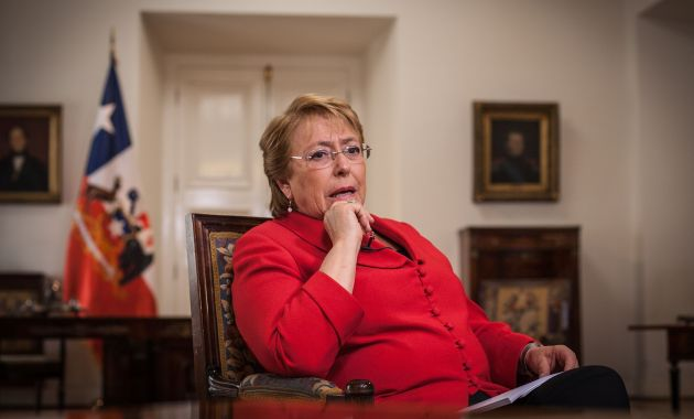 Mandataria es vinculada a presuntos aportes ilegales de OAS a su campaña presidencial de 2013 (AFP).
