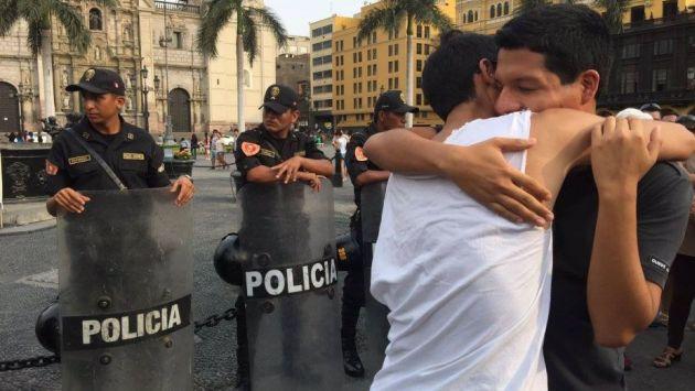 Comunidad LGBT organiza besatón contra la homofobia este sábado. (Esther Vargas/Perú21)