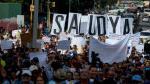 Trabajadores de la salud de Venezuela protestan contra la crisis que existe en el sector. (AFP)