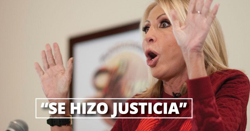 Laura Bozzo anunció que regresará a Lima en dos día con pruebas contra Olivera.