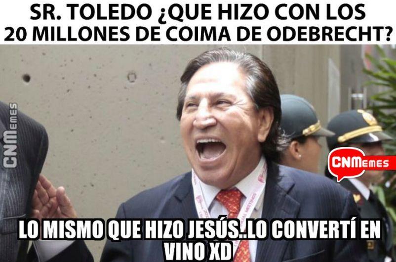 De la indignación a la risa Alejandro Toledo se merecía sus memes y aquí  están