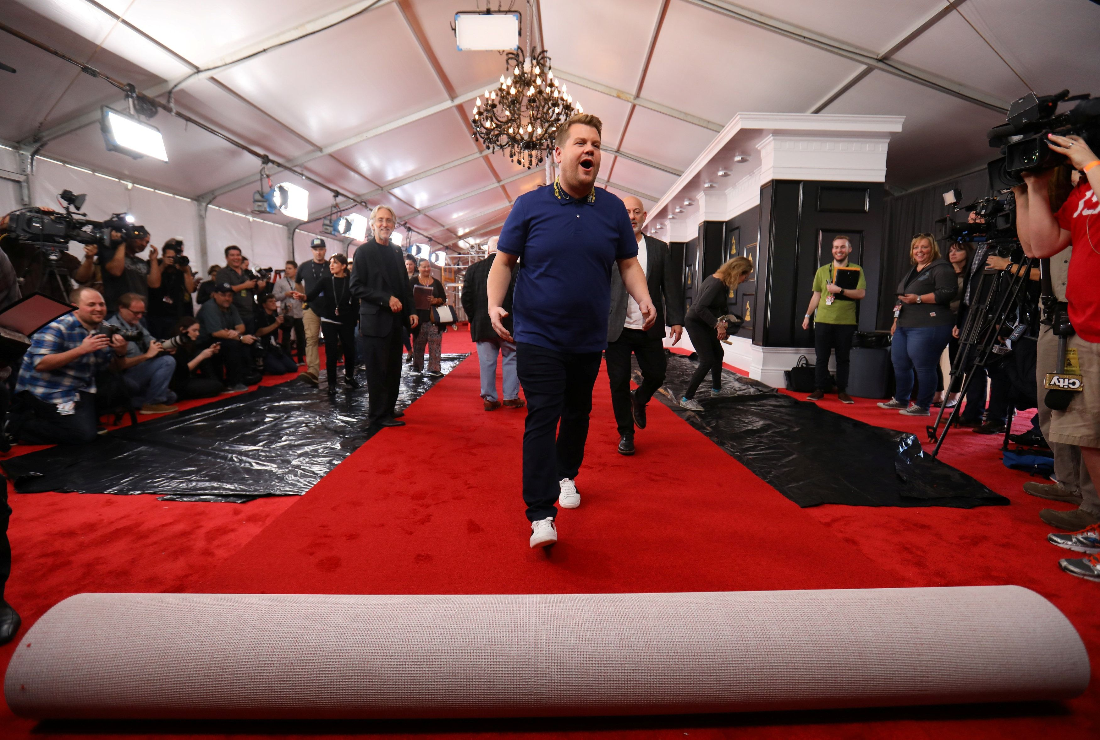 Adele arrasa en la entrega de los premios Grammy