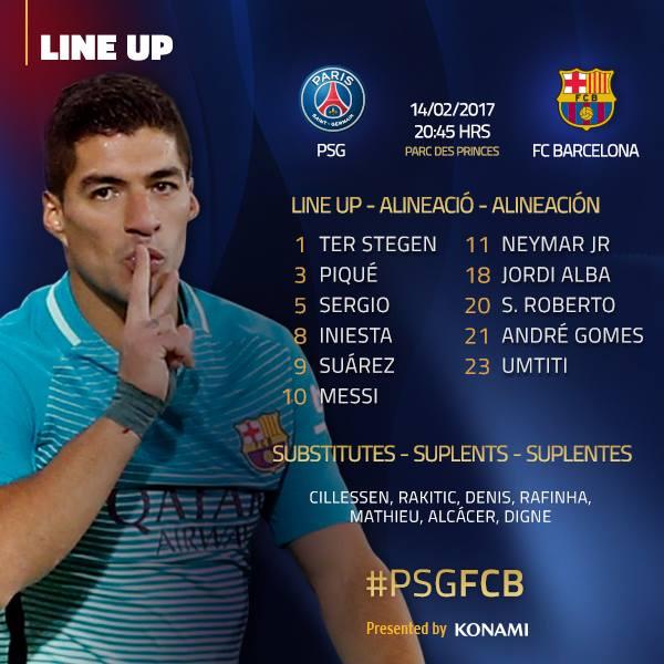 Barcelona vs. PSG EN VIVO