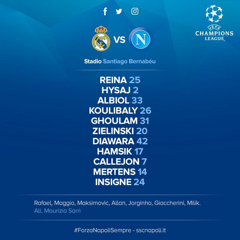 Real Madrid vs. Napoli EN VIVO