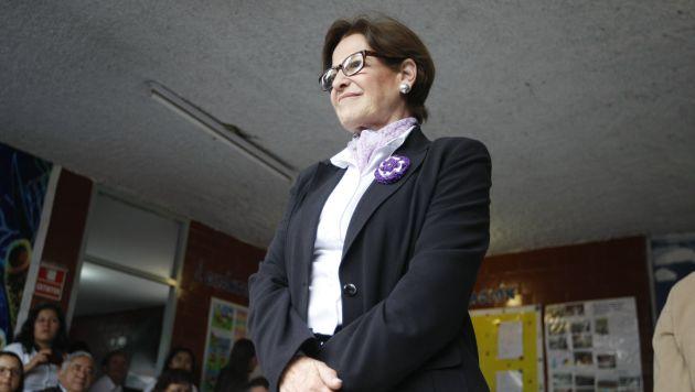 Pendiente. Villarán se mostró dispuesta a acudir al Congreso. (Mario Zapata/Perú21)