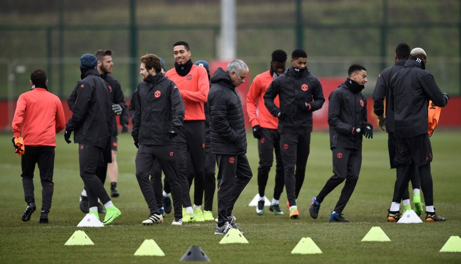 Manchester United vs. Saint Etienne EN VIVO
