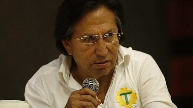Alejandro Toledo: Se declaró inadmisible apelación presentada por su defensa. (USI)