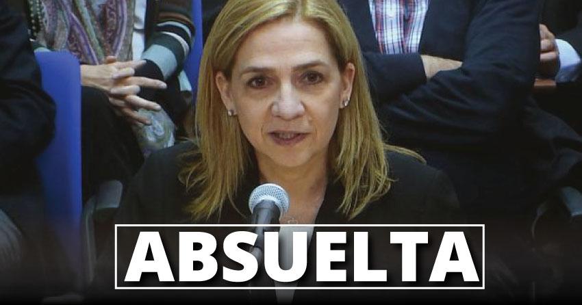 Pese a ser absuelta, a Cristina de Borbón se le ha impuesto una multa de 265.088 euros. (Foto: Reuters)