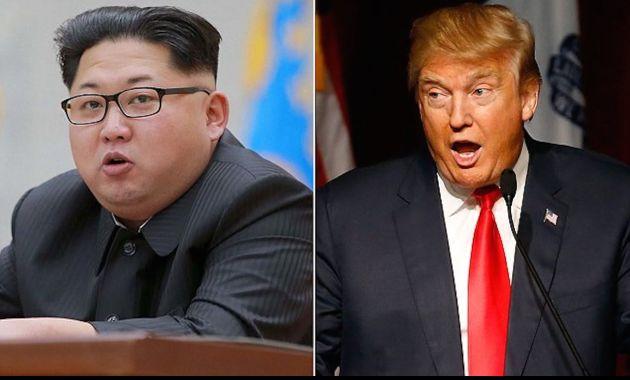 Kim Jong-un, líder de Corea del Norte y Donald Trump, presidente de EE.UU. (YouTube).