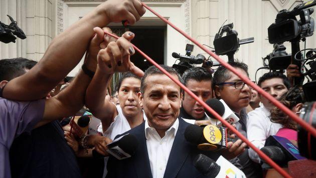 Citación a ex mandatario fue reprogramada. (Renzo Salazar/Perú21)