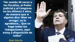 Alan García: Las frases más impactantes del ex presidente tras su retorno al Perú - Noticias de caso garcia