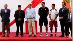 PPK visitó a la Selección Peruana Sub 17 en la Videna - Noticias de edwin oviedo