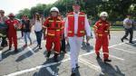 Pedro Pablo Kuczynski visita feria de bomberos y reconoce que necesitan más equipos - Noticias de productos pirotécnicos