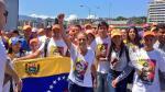 Venezolanos realizan manifestación pidiendo la liberación del líder opositor, Leopoldo López. (AFP)