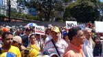 Venezolanos realizan manifestación para exigir la libertad de Leopoldo López - Noticias de lilian thuran