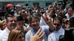 'No habrá segunda vuelta electoral', sostiene Rafael Correa después de votar. (Reuters)
