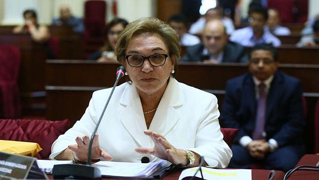 Ministra de la Mujer reveló que solicitó aportes a Odebrecht para ONG de Alejandro Toledo. (@congresoperu)