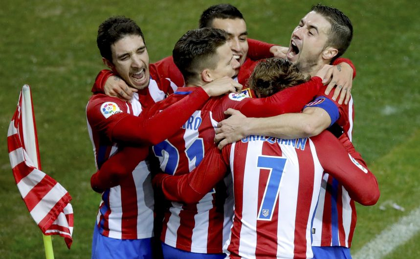 Atlético de Madrid visitará a Bayer Leverkusen en la ida de los octavos de final de la Champions League