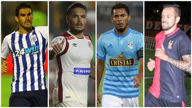Actualmente, según el informe, 27 marcas auspician a clubes del fútbol peruano. (USI)