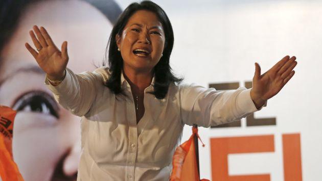 Keiko Fujimori en la mira. (AP)