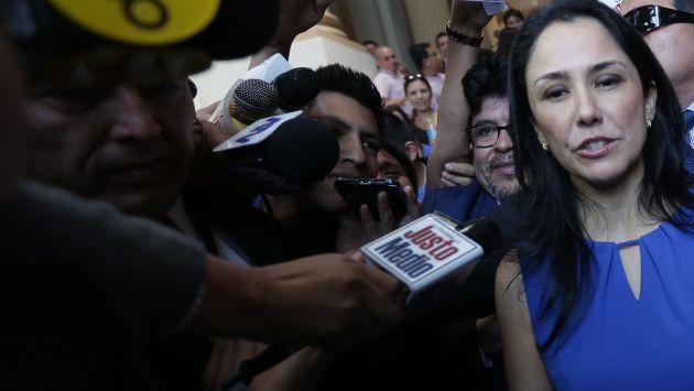"""Nadine Heredia sobre aportes de Odebrecht: """"No significa que me hayan entregado a mí  ese dinero"""""""