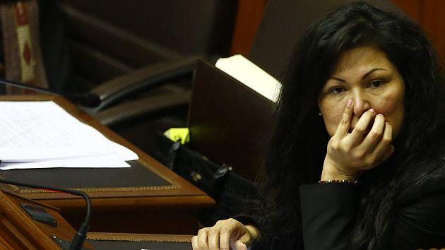 Yesenia Ponce: Congresista de Fuerza Popular podría ser suspendida 120 días