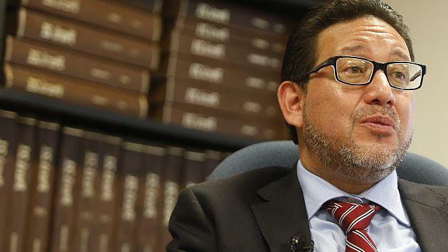 """Marco Cárdenas: """"Se deben inmovilizar cuentas de Alejandro Toledo"""""""