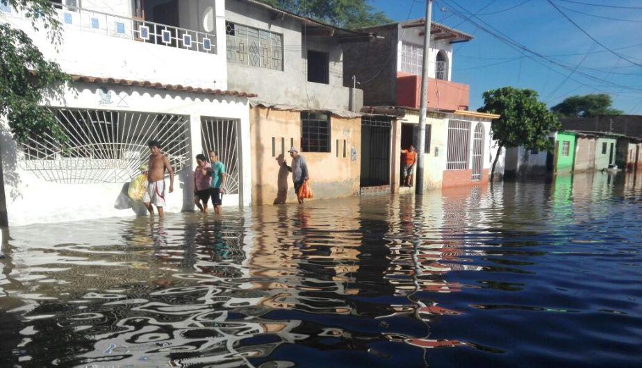 Un muerto y serios daños por las fuertes lluvias en la región Piura