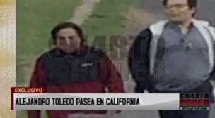Alejandro Toledo fue fotografiado paseando en California [Fotos y video]